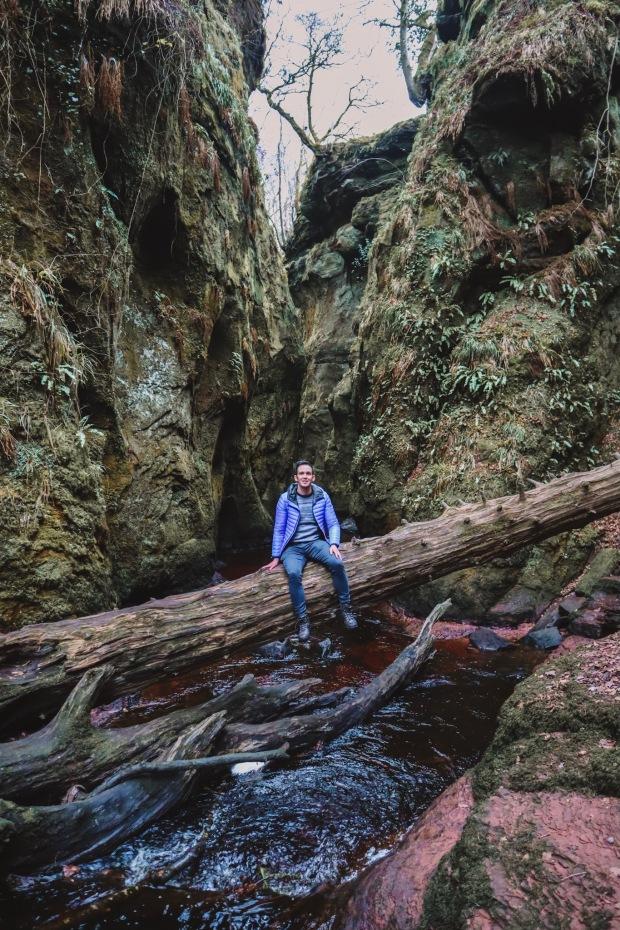 The Devils Pulpit - Finnich Glen - Scotland